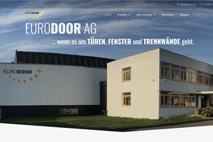 Neue Website Eurodoor Schweiz AG